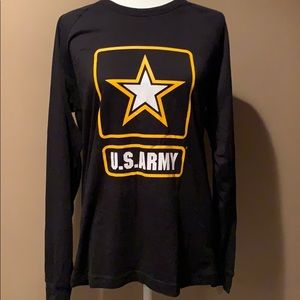 Long sleeve Pink Army TShirt